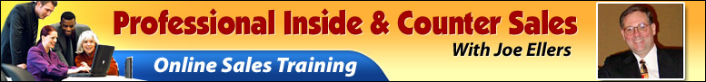 Professional Inside and Counter Sales Banner